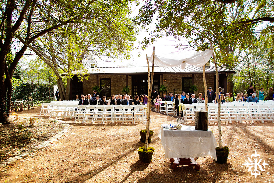 Jewish wedding photo at the Hoffman Haus taken by Austin wedding photographer, Tony Ku