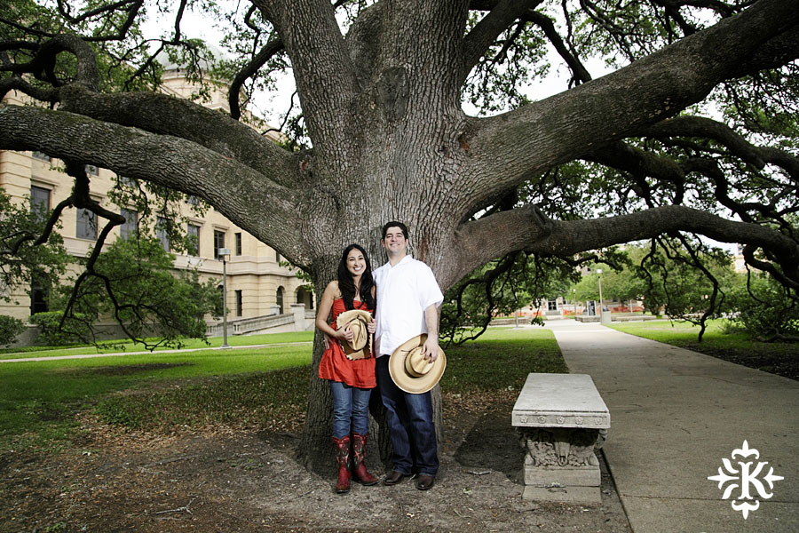 An engagement session at Kyle Field photographed by Austin wedding photogarpher Tony Ku (10)