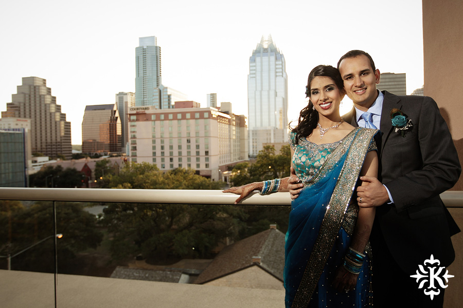 Austin wedding photographer Tony Ku photographs an Indian wedding reception in downtown Hilton Hotel, Austin, Texas. (8)