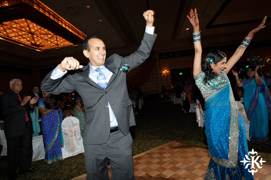 Austin wedding photographer Tony Ku photographs an Indian wedding reception in downtown Hilton Hotel, Austin, Texas. (9)