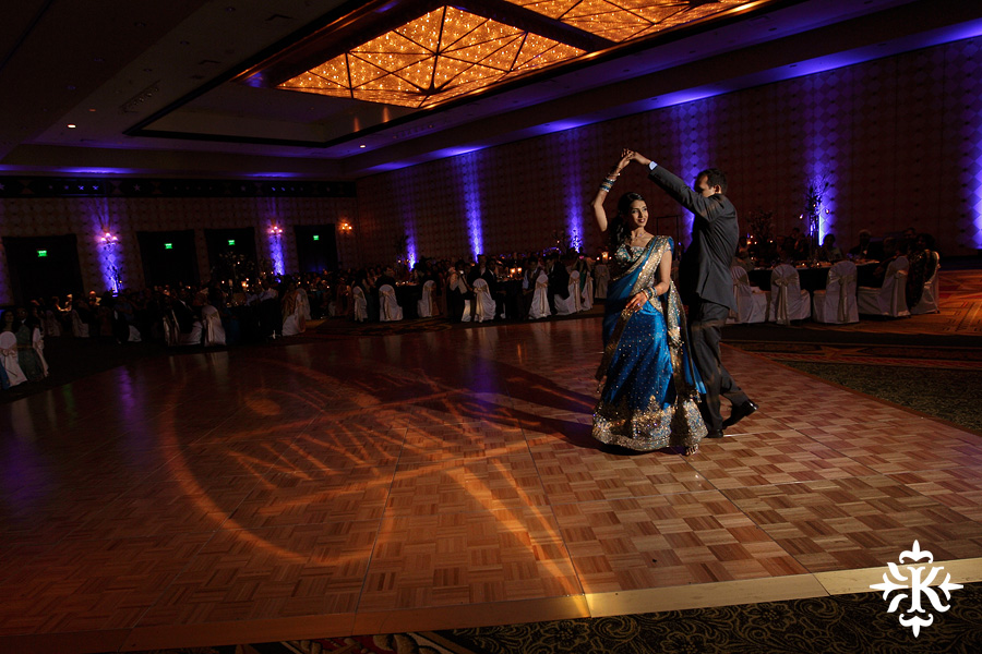Austin wedding photographer Tony Ku photographs an Indian wedding reception in downtown Hilton Hotel, Austin, Texas. (11)