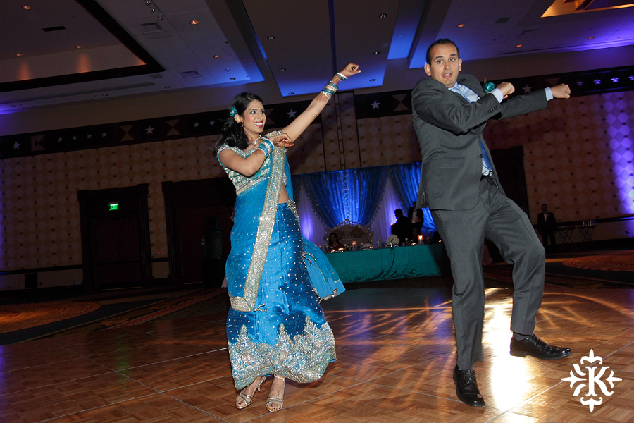 Austin wedding photographer Tony Ku photographs an Indian wedding reception in downtown Hilton Hotel, Austin, Texas. (12)