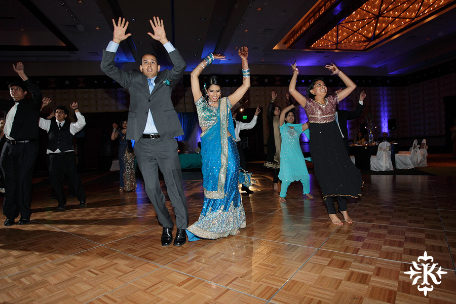Austin wedding photographer Tony Ku photographs an Indian wedding reception in downtown Hilton Hotel, Austin, Texas. (20)