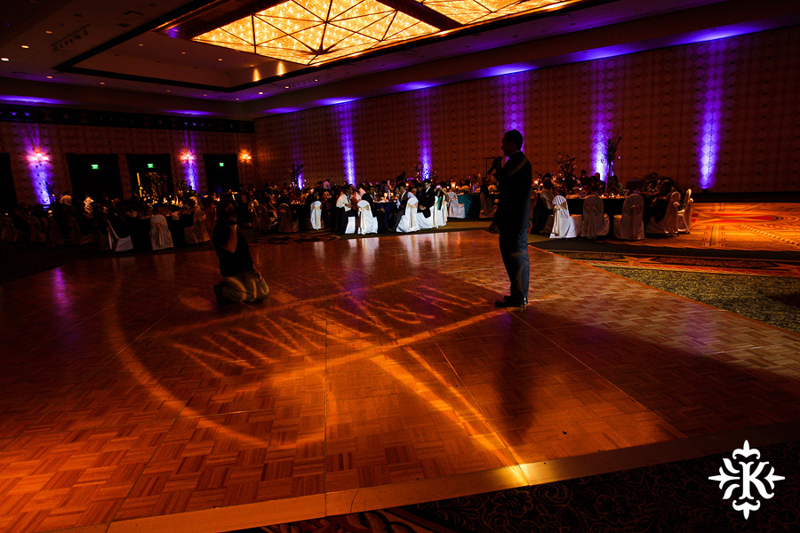 Austin wedding photographer Tony Ku photographs an Indian wedding reception in downtown Hilton Hotel, Austin, Texas. (21)