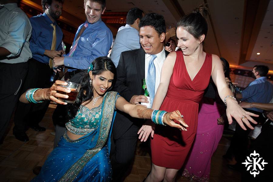 Austin wedding photographer Tony Ku photographs an Indian wedding reception in downtown Hilton Hotel, Austin, Texas. (41)