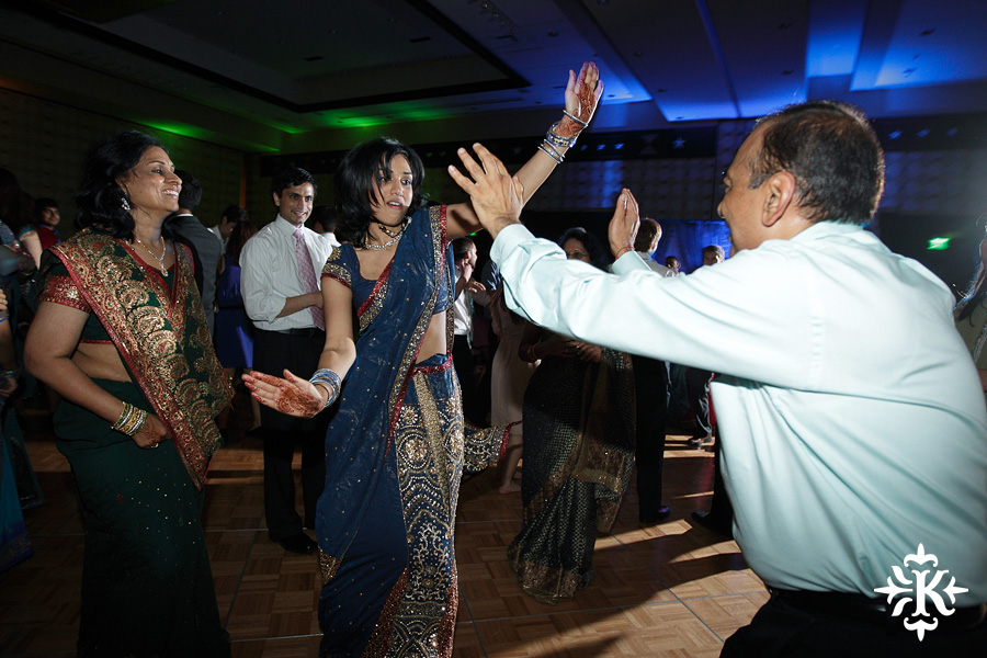 Austin wedding photographer Tony Ku photographs an Indian wedding reception in downtown Hilton Hotel, Austin, Texas. (42)