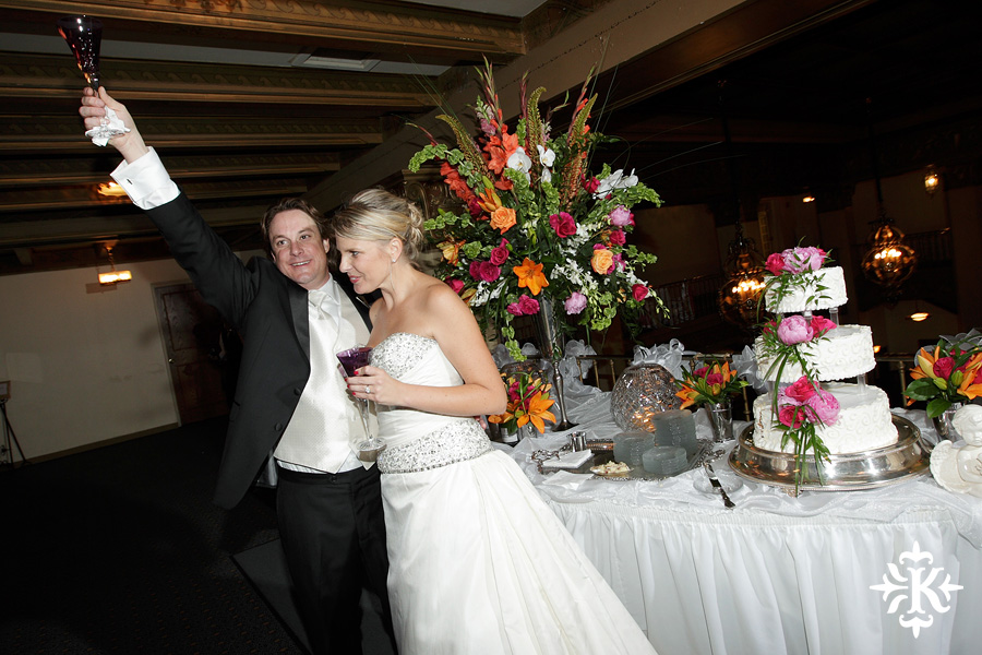 Tiffany and Justin's wedding photos at the Cactus hotel in San Angelo, Texas (12)
