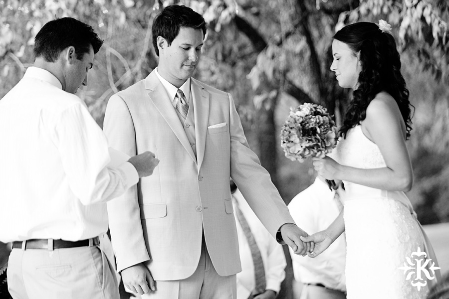 Tony Ku, Austin wedding photographer, captures a moment in the ceremony at a wedding in Reunion Ranch, Terrell, Texas
