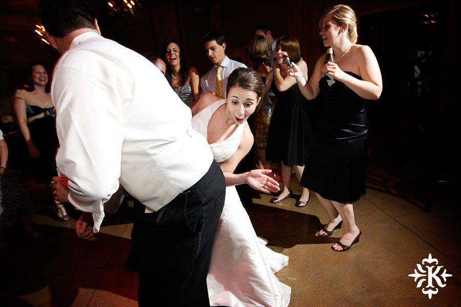 Couple dancing at Mansion at Judges' Hill wedding photographed by Austin wedding photographer