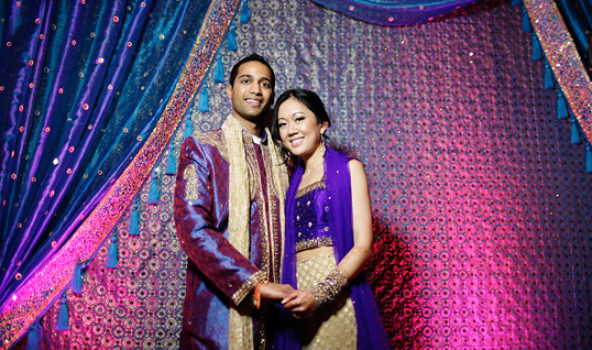 Indian Sangeet night at the Omni Mandalay Hotel photographed by Austin wedding photographer Tony Ku
